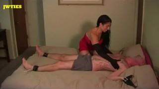 Главная порно видео - Satin Gloved Tickle And Gom