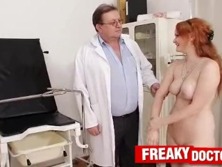 Public Middle Pale Skin Czech Redhead Samantha Medical Doctor Check-Up, Amateur Fetish Toys Red