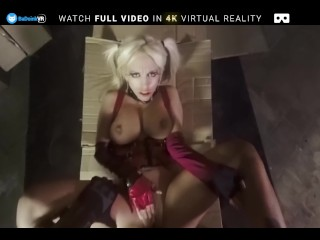 BaDoink VR Busty Milf Blondie Fesser Penetrated By Hard Dick