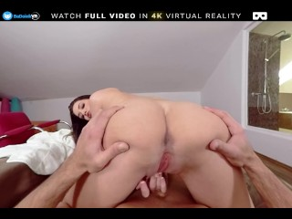 BaDoink VR Busty Teen Angelina Brill Fucks You After Shower