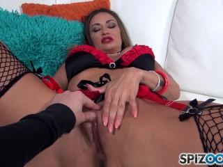 Young Girls Pussy Movies Milf Claudia Valentine Take A 9 Inches Cock Up Her Butt -