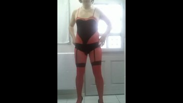 Patty Crossdresser Bodystocking style