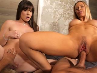 Riley Reid Dillion Harper Fucking, Threesome with nicole aniston and alison Rey Babe Big Tits Blonde Brunette