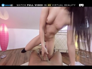 BaDoink VR Hot Cute Teen Kittina Talks Dirty And Gets Fucked
