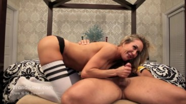 Referee Brandy Love Can't Wait To Give Football Player A Handjob