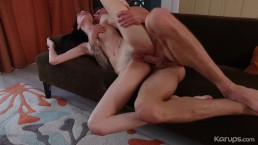 Very Skinny Teen Audrey Grace Gets Fucked Hard & Rough To Get Out Of Paying