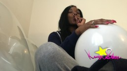 Kassey Starr Wake and Bake Balloon Pop