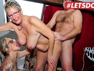 Pink Dress Sex In The City German Mature Milfs Abuse Young Stud - Letsdoeit, Amateur Big Tits Blowjo