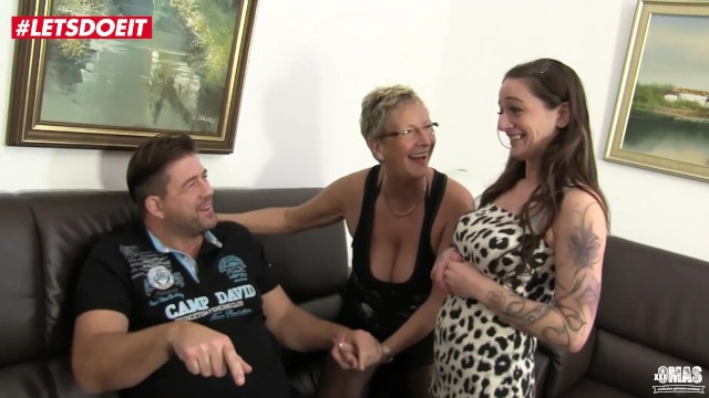 Horny Mature German Wifes Fuck Their Neighbor – LETSDOEIT
