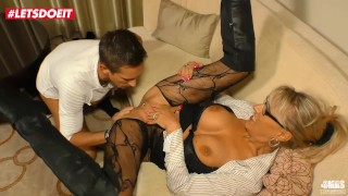 German Stud Seduced and Fucked by His Hot Mature Step Aunt – LETSDOEIT