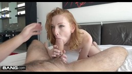 Rammed - Redhead with a booty Katy Kiss gets her tight pussy pounded