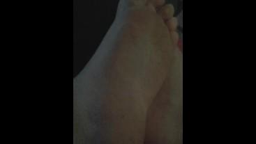 College Boy Feet