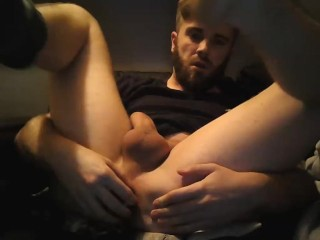 Wanks and toys with ass mattthom98...
