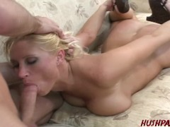 Big booty PAWG MILF Devon Lee fucked hard by young James Deen