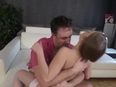 Stunning Russian Virgin Fucked Hard And Facialled
