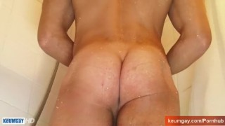 Huge greg  my a huge shower cock neighbour in cumshot for with the straight jerking