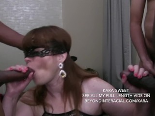 What The Fuck Is Going On In The World Three Men Gang Bang Kara Sweet