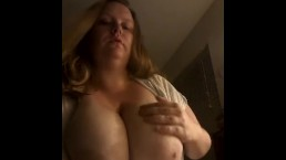 BBW BOUNCING 40 DD TITS ALL OVER THE PLACE