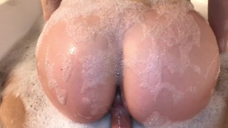 Lets bathtub  sex yo the in face her me gf after on cum hot lips eyelashes