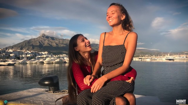 I had a sexy time with my mother in law - This autumn i visited my friend talia mint. we had an amazng time together