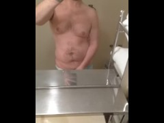 Showing and Stroking my Big Dick