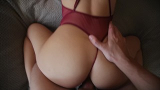 Perfect Body gets Anal in a sexy lingerie - morningpleasure