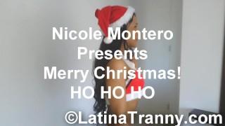 HO HO HO Merry Christmas and Happy Holidays everyone! Trans Handjob CUM Pussy girl