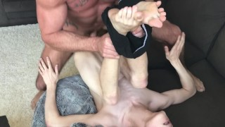 Billy Santoro and Michael Roman Use a Raw Twink Hole