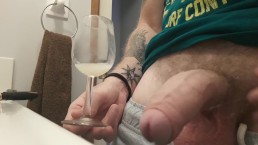 Cumming in Glass