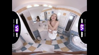 TmwVRnet.com - Linda Weasley - Brushing teeth with sperm Date pov