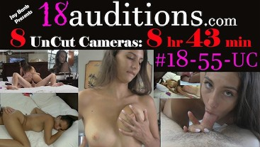 #18-55-UC 8 UnCut Cameras (8 Hrs 43min Total) from Clip #18-55