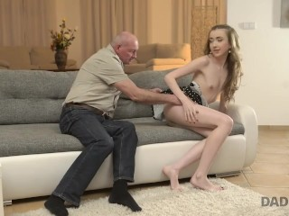 daddy4k old man still able to satisfy young sluts like son's new gf