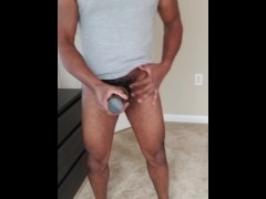 Cum in condom for my sons
