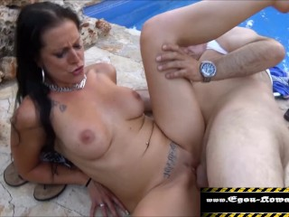 Brazzers hurry my moms coming milf am pool gefickt/part2, mom mother public outside german milf