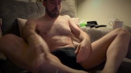 Boxing Day morning - lazy wanking, weed and prostate toy