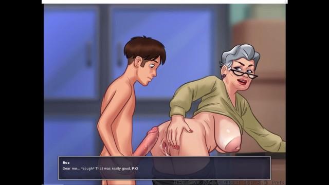 Summersaga Pk And Roz Sex In Hospital Ward - Pornhubcom-4906