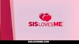 SisLovesMe - Aryana Amatista Fucks Her Stepbro In Front Of Her Mom