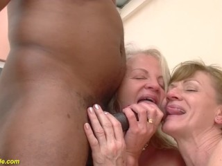 71 and 82 grannies banged...