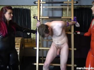 Matue shaved pussy breathe deeply true merciless girls and slaves balls, mercilessdominas kink bdsm