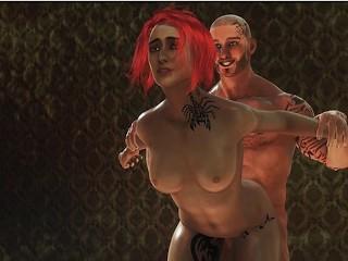 Cartoon hardcore sex video Fat Pusy beeld