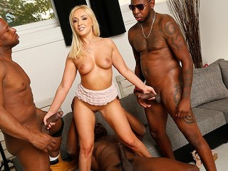Latinsandra Amber Deen Interracial Gangbang, Big Ass Big Dick Blowjob Creampie Hardcore Interracial