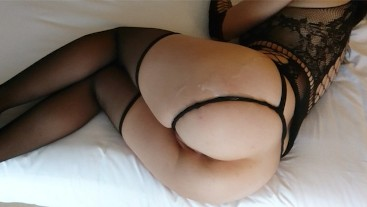 Curvy Girl with Perfect Ass makes him Cum So fast & Keep Fucking!