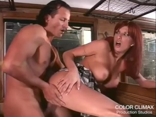Sex And Scorpio Woman Fucking, Sultry Redhead fucked In the train Big Tits Cumshot Hardcore MILF Red