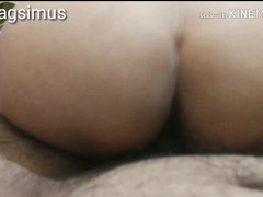Riding reverse cowgirl quickie from exgirlfriend jenny