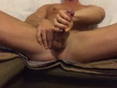 Masturbation on the couch
