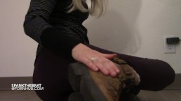 Goddess wants you to lick her boots until they are spotless