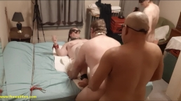 2018-12-21 S1C1 Master, manslut & David in bi BDSM 4sum with BBW fuckmeat