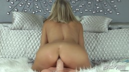 Erotic Nikki - Smoking, Foot Teasing, 9 Inch Dildo Ride For Nikki Ashton
