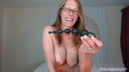 Camgirl Milf Jess Ryan Introduces You To Her Anal Toys