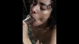 Tinder date deepthroat training